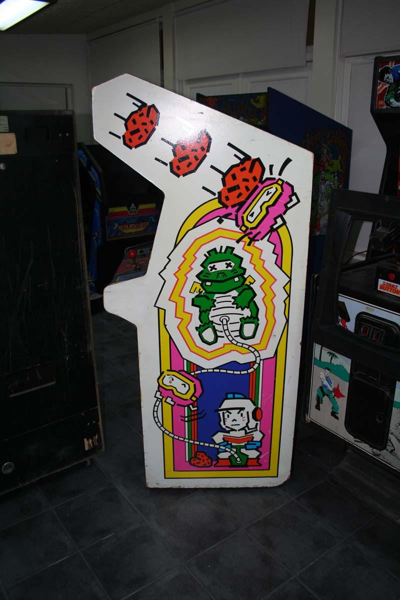 Thickness of Dig Dug sidepanels